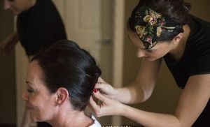 Wedding bridal hair styling and makeup gran canaria spain perfect wedding company