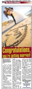 The Canary News_You're getting married!