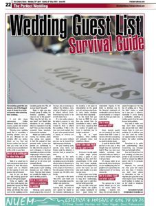 The Canary News_Wedding Guest List