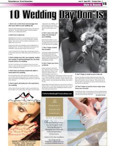 The Canary News_10 Wedding Day Don'ts