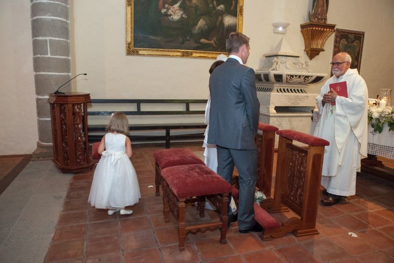 2 Religious Marriage Blessing Ceremony Wedding Abroad Canary Islands Gran Canaria Spain