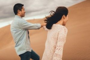 4 Photographer Couples Photoshoot - Engagement photoshoot - Sand Dunes (1)