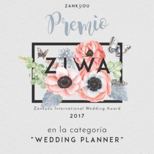 WEDDING PLANNER AWARD 2017